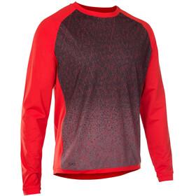 ION Traze_Amp maglietta a maniche lunghe Uomo rosso/blu
